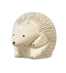 White Pure Wood - Hedgehog