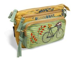 Bike Crossbody Bags - Canvas