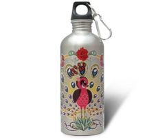 Peacock - Stainless Steel Water Bottle
