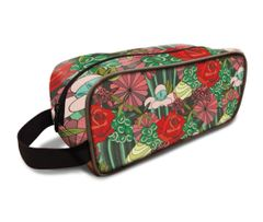 Rose Pattern Dopp Kit