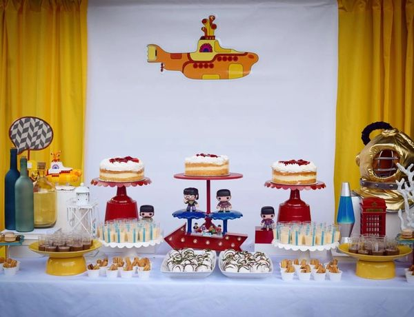 Yellow Submarine Beatles My Awesome Party