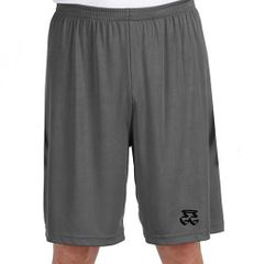 GETGO GRAY PERFORMANCE SHORTS