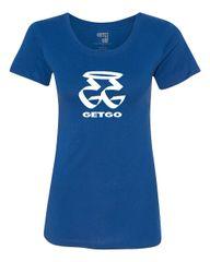 GETGO ORIGINAL LADIES BLUE SHORT SLEEVE (GG)