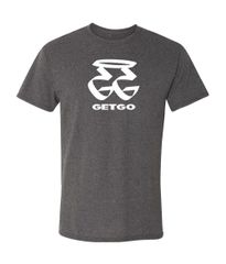 GETGO GG WORD Logo Sports T-Shirt (GRAY)