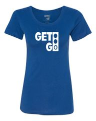 GETGO ORIGINAL LADIES SHORT SLEEVE (BLUE)