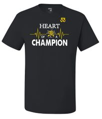 HEART OF A CHAMPION (NCAA WICHITA STATE SHOCKERS)