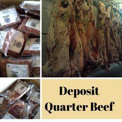 Deposit for Quarter Beef