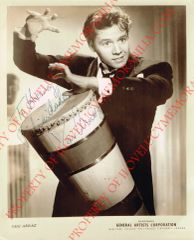 Desi Arnaz Beats the Bongo Drum Authentic Signed Autographed 8x10 Photo