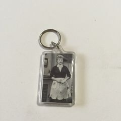 Lucille Ball I Love Lucy Plastic Key Ring Key Chain