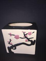 Vintage Asian Ceramic Planter I Love Lucy Prop