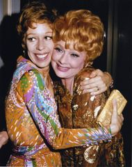 Beautiful Color 8x10 of Carol Burnett and Lucille Ball