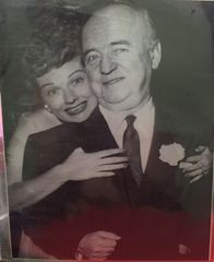 Lucille Ball and William Frawley 8x10