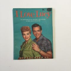 RARE Vintage 1950's I Love Lucy Trace and Cutout Book