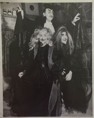 Gale Gordon as Dracula, Lucille Ball and Vivian Vance as Witches 8x10