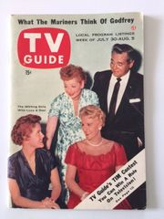 Beautiful and Immaculate Vintage I Love Lucy Related TV Guide / July 30, 1955 / Volume 3 / Number 31 / Issue # 122