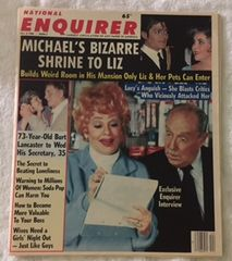 Lucille Ball Life With Lucy National Enquirer Exclusive Interview Issue November 4, 1986