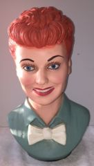"Vintage Lucille Ball 13'' Esco Bust as Featured in ""Closer"" Magazine"