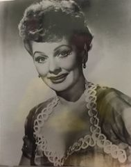 Lucille Ball Smiling 8x10 Photo