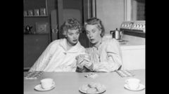 Lucille Ball and Vivian Vance in I Love Lucy Fortune Telling 8x10