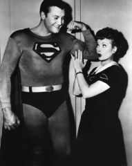 Lucy and Superman 8x10