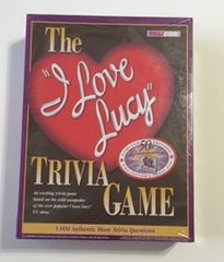 Brand New Plastic Sealed The I Love Lucy Trivia Game