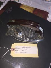 Vintage Travel Iron I Love Lucy Prop