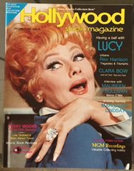 Lucille Ball on Cover of Hollywood Studio Magazine Having a Ball with Lucy Issue 1981
