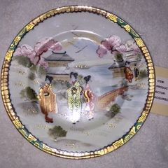 Vintage I Love Lucy China Asian Plate Prop