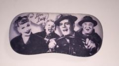 California Here We Come I Love Lucy Hard Case for Glasses