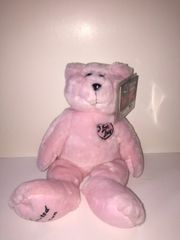 Large Pink I Love Lucy Limited Edition Signature Series Teddy Bear