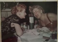 RARE Candid Color 5x7 of Lucille Ball and Vivian Vance at Awards Ceremony