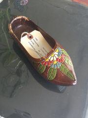 Vintage Wood Shoe Shelf Accent Prop