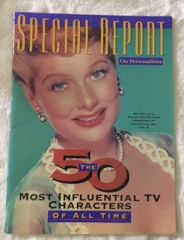 Lucille Ball Special Report 10.5 x 14 '' Magazine May-July, 1991