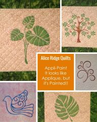 Fabric Painting and Stencils