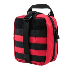 MOLLE EMT Pouch - Red