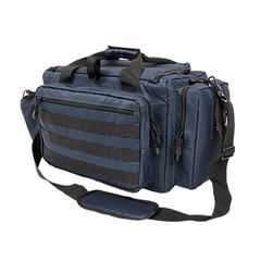 All-Purpose Standard Range Bag - Blue w/Black Trim