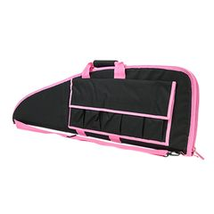 "Standard Rifle Case 40"" - Black w/Pink Trim"
