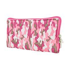 Pistol Case Range Bag Insert - Pink Camo