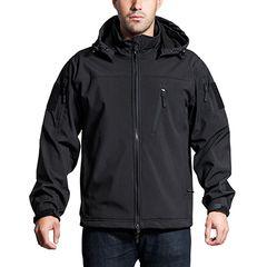 Anorak Jacket-Black-XX Large
