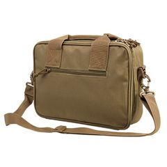Double Pistol Range Bag - Tan