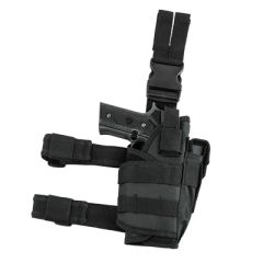Drop Leg Tactical Holster - Black