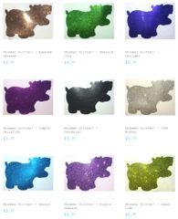 Shimmer Glitter - Bundle Pack & Glitter Hippo® Figure!