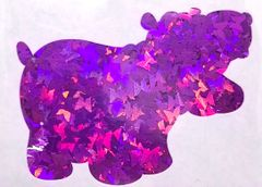 Holographic Shape Glitter! - Purple Butterflies