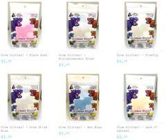 Glow Glitter - Bundle Pack & Glitter Hippo® Figure!