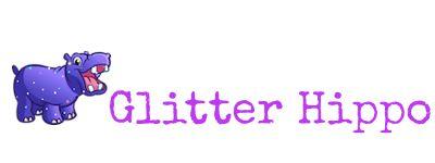 Glitter Hippo