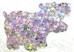 Color Shift Shape Glitter! - Unicorn Stars