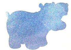 Thermal Glitter! - Blue