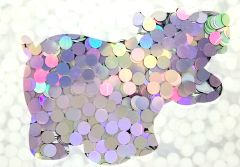 Color Shift Shape Glitter! - Unicorn Dots