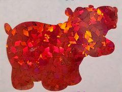 Holographic Shape Glitter! - Red Diamonds