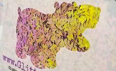Color Shift Shape Glitter! - Pink Lemonade Butterflies